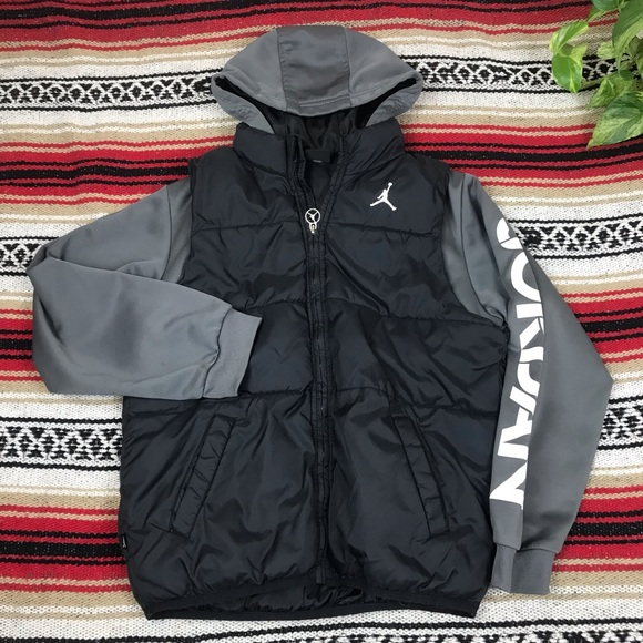 Air Jordan Jumpman Puffer Vest Hoodie